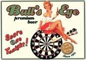 Bull's Eye Premium Beer Eureka Lake Studio