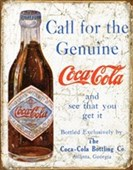 Call for the Genuine Article Coca Cola