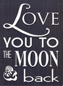 To The Moon and Back Long Distance Love