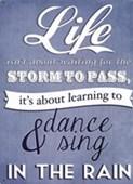 Dance & Sing In The Rain Vivian Greene