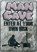 Enter At Your Own Risk Man Cave