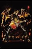 Guitar Hero Skeleton Rock