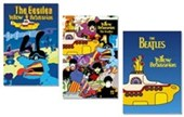 The Beatles Yellow Submarine 3 Pack Poster Bundle Deal