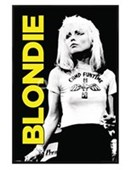 Gloss Black Framed Debbie Harry Blondie