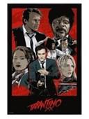 Gloss Black Framed Tarantino XX Quentin Tarantino