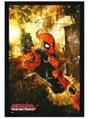 Black Wooden Framed Deadpool Gun Marvel Extreme
