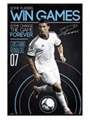 Gloss Black Framed Some Players Win Games Ronaldo