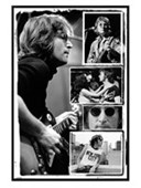 Gloss Black Framed Photo Collage John Lennon