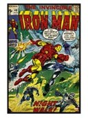 Gloss Black Framed Night Walk! The Invincible Iron Man
