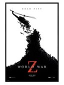 Gloss Black Framed The Zombies Are Coming! World War Z