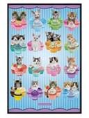 Gloss Black Framed Kittens & Cupcakes Keith Kimberlin