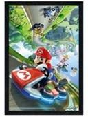 Black Wooden Framed Flip Mario Kart 8