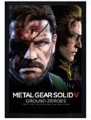 Black Wooden Framed Ground Zero Metal Gear Solid V