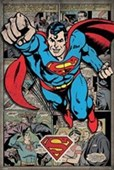 Superman Comic Book Montage DC Comics