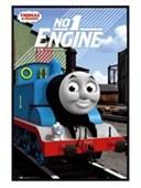 Gloss Black Framed No 1 Engine Thomas the Tank Engine