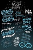 The Fault In Our Stars Typographic The Fault In Our Stars