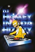 DJ Homey The Simpsons
