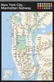 Manhattan Subway Map New York