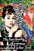 The True Beauty of a Woman Audrey Hepburn