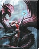 Scarlet Mage Canvas Print Anne Stokes