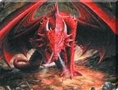 Dragons Lair Canvas Print Anne Stokes