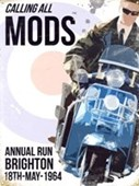 Calling All Mods Brighton 1964 Annual Run
