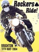Rockers Ride Brighton 1964 Mods and Rockers Riots