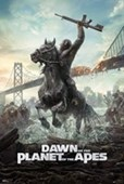 Dawn of the Planet of the Apes Caesar Charge