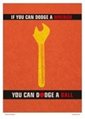 Minimal Movies: A Wrench Dodgeball Dodge a Wrench Dodge a Ball
