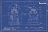 Dalek Blueprint Doctor Who