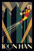 Iron Man Marvel Deco