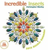 Incredible Insects Sticker Calendar Christopher Marley