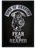 Black Wooden Framed Fear The Reaper Sons of Anarchy