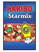 Gloss Black Framed Haribo Starmix The Happy World of Haribo
