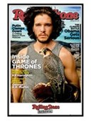 Gloss Black Framed Kit Harington Rolling Stone