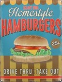 Homestyle Hamburgers Drive Thru: Take Out