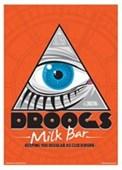 Droogs Milk Bar Mini Poster Inspired By Clockwork Orange