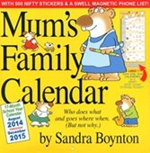 Mum's Family Calendar Sandra Boynton