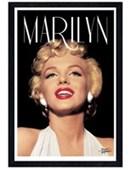 Black Wooden Framed Spotlight On Marilyn Marilyn Monroe