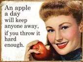 An Apple A Day Stay Away