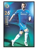 Gloss Black Framed John Terry Chelsea Football Club
