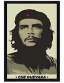Black Wooden Framed An Original Revolutionary Che Guevara