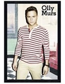 Black Wooden Framed X Factor Superstar Olly Murs
