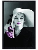Black Wooden Framed Elegance Personified Marilyn Monroe