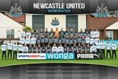 Team Photo Newcastle United Football Club 2014/15