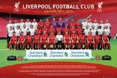 Team Photo Liverpool Football Club 2014/15