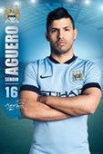 Sergio Aguero Manchester City Football Club