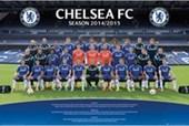 Team Photo Chelsea Football Club 2014/15