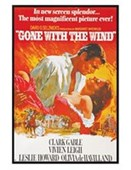 Gloss Black Framed Vivian Leigh is Scarlett O'Hara Gone With The Wind