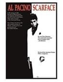 Gloss Black Framed Scarface Movie Score Al Pacino - Scarface